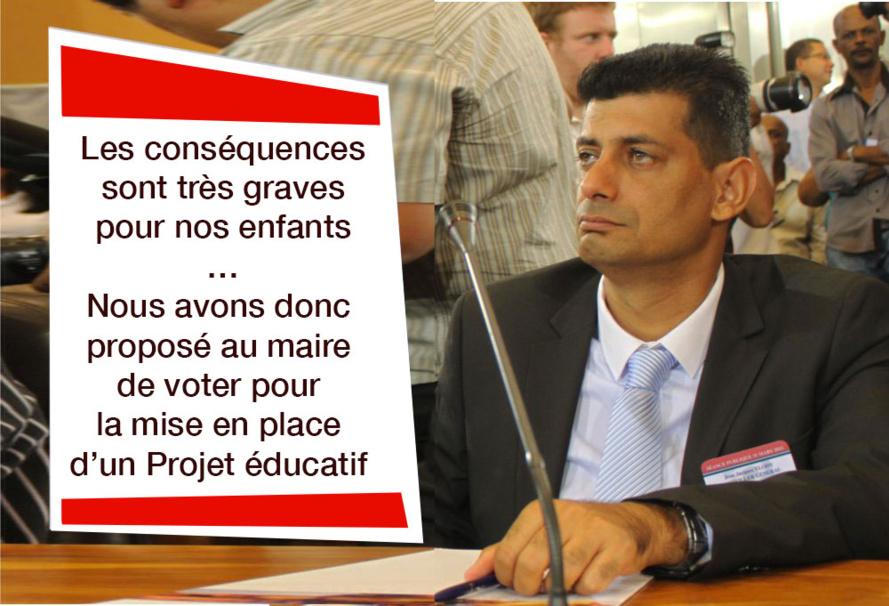 Au Tampon l'Education n'est pas une priorité. TAK refuse 1 million d'euros pour la réussite de nos enfants
