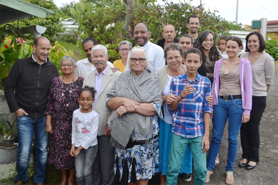 La Chaloupe Saint-Leu : Marie Jeannette et Edgard ont fêté leurs noces d'orchidée
