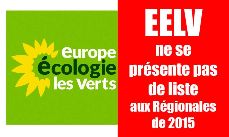 EELV ne présentera pas de liste aux Régionales de 2015
