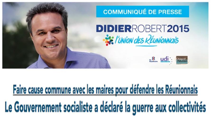 Faire cause commune avec les maires pour défendre les Réunionnais