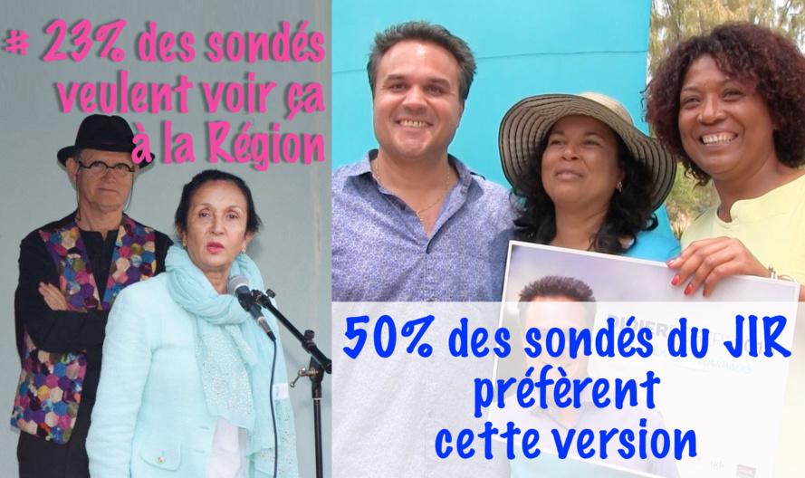 Les Réunionnais ne sont pas prêt à redonner des clés du pouvoir à Huguette BELLO