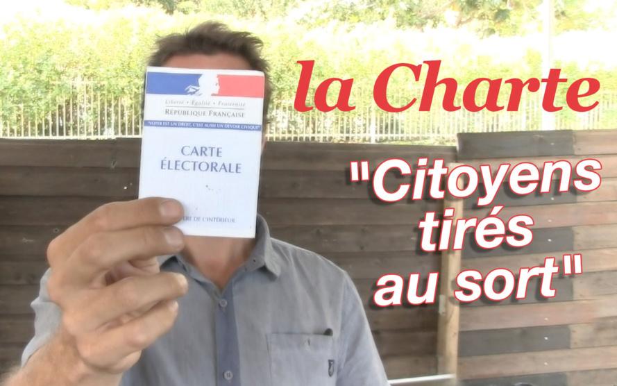 Charte éthique des candidats et élus citoyens tirés au sort sur les listes électorales