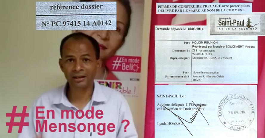 Huguette BELLO : Signer pour Holcim entre les deux tours des municipales, pose question...