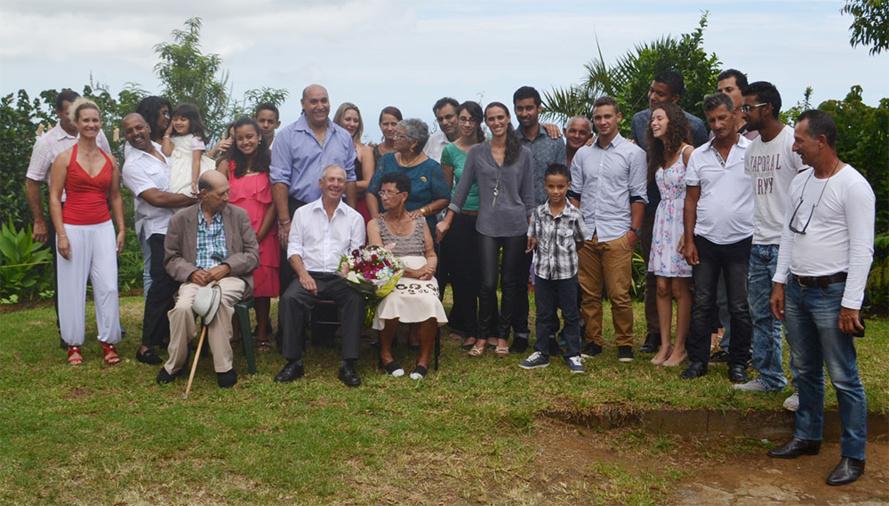 55 ans de mariage : Pour les Begue de La Chaloupe Saint-Leu