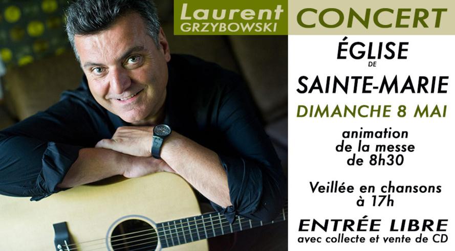 Laurent en concert