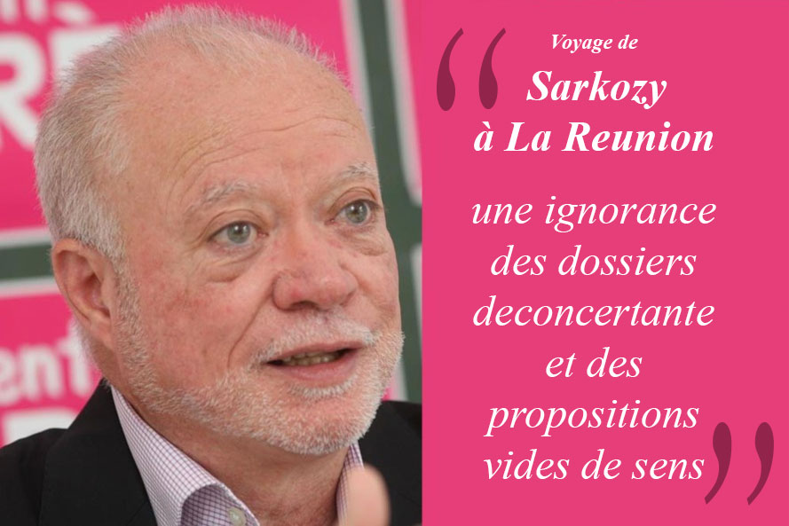 Voyage de Sarkozy à La Réunion : une ignorance des dossiers déconcertante et des propositions vides de sens