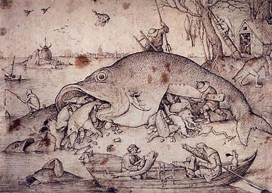 Dessin de Bruegel