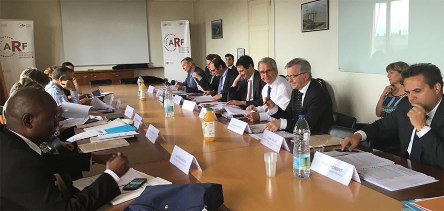 L'Assemblée Générale de l'Assemblée des Régions de France à Paris