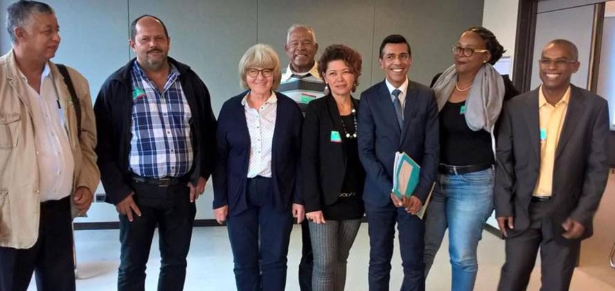 Réunion au Parlement européen avec les pêcheurs des RUP