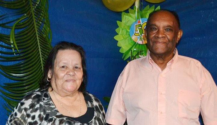 Saint-Leu : 50 ans de mariage des époux Boubon