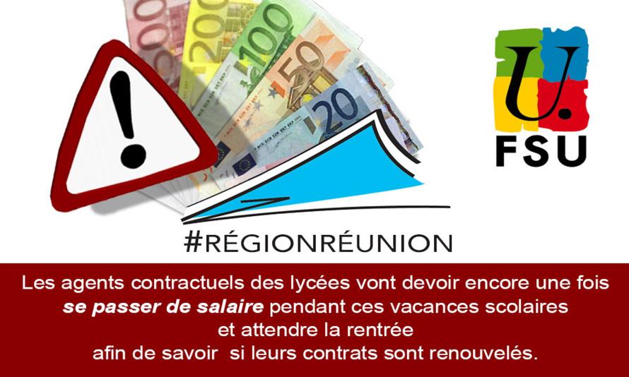 Les contractuels de la Région Réunion toujours dans l'expectative...