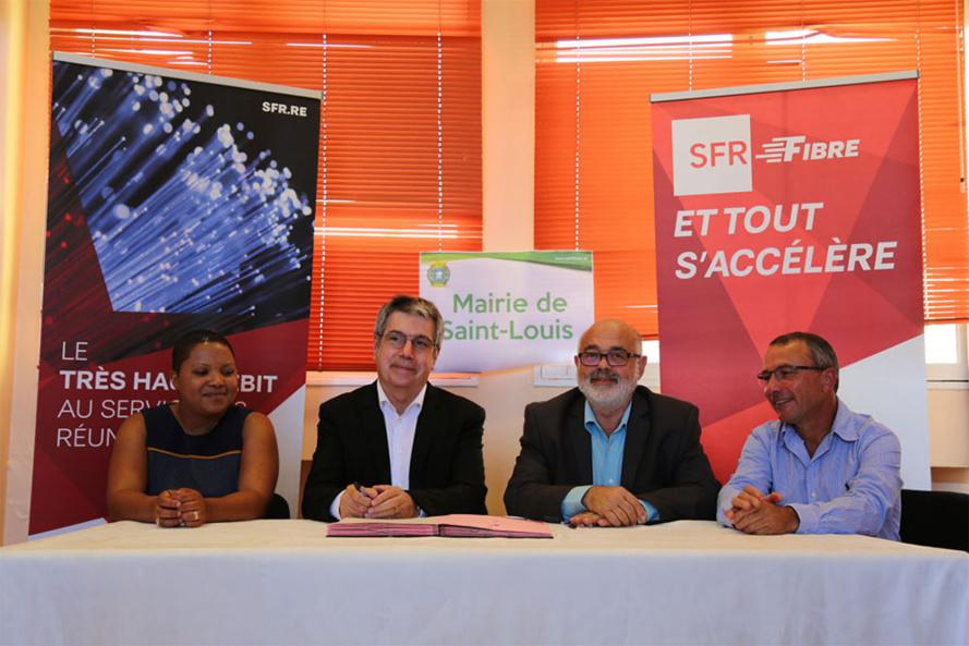 SFR Réunion accélère le déploiement de la Fibre Optique à Saint-Louis