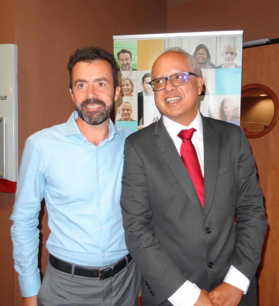 Yann de Prince aux côtés de Didier Fauchard