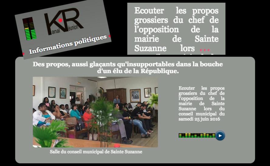 """L'enregistrement des """"propos insupportables"""" du Conseil municipal"""