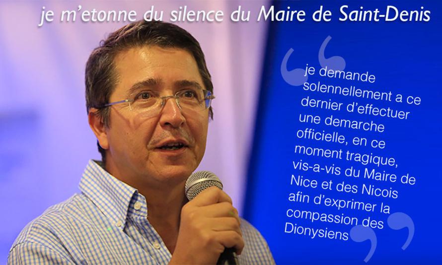 Jean-Jacques MOREL : Suite à l'attentat survenu le 14 Juillet à Nice