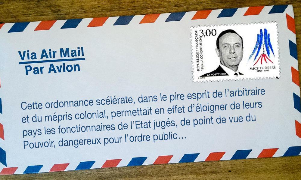 REUNION 1ERE ET L'ORDONNANCE  DU 15 OCTOBRE 1960