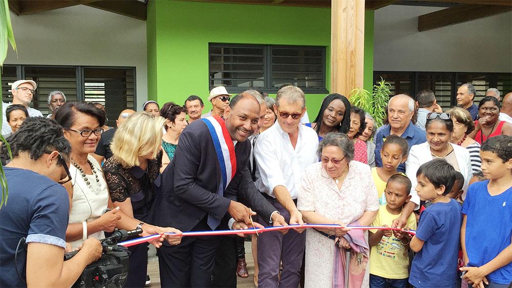 Saint-Leu : Inauguration de l'école primaire Mario Hoarau