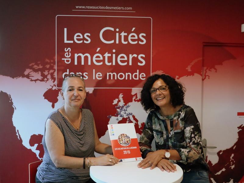 Danièle Le Normand, première Présidente de la Cité des métiers de La Réunion, passe la main à Nathalie Bassire