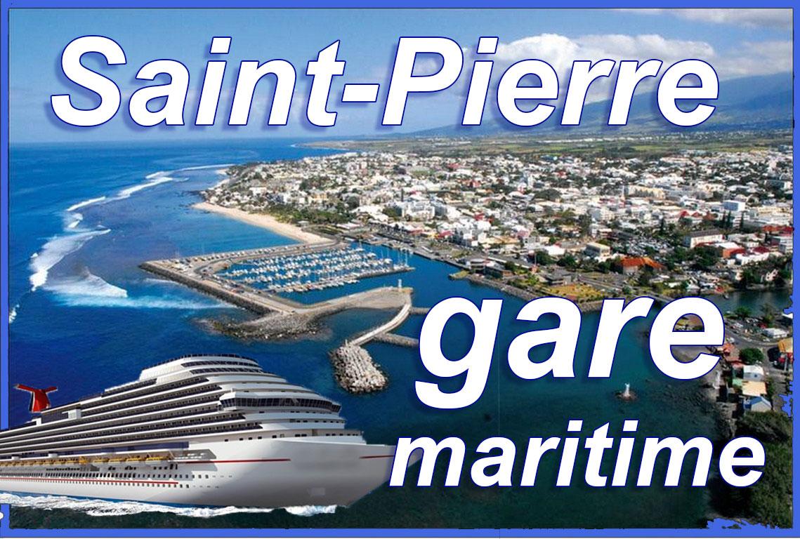 Une gare maritime à Saint-Pierre