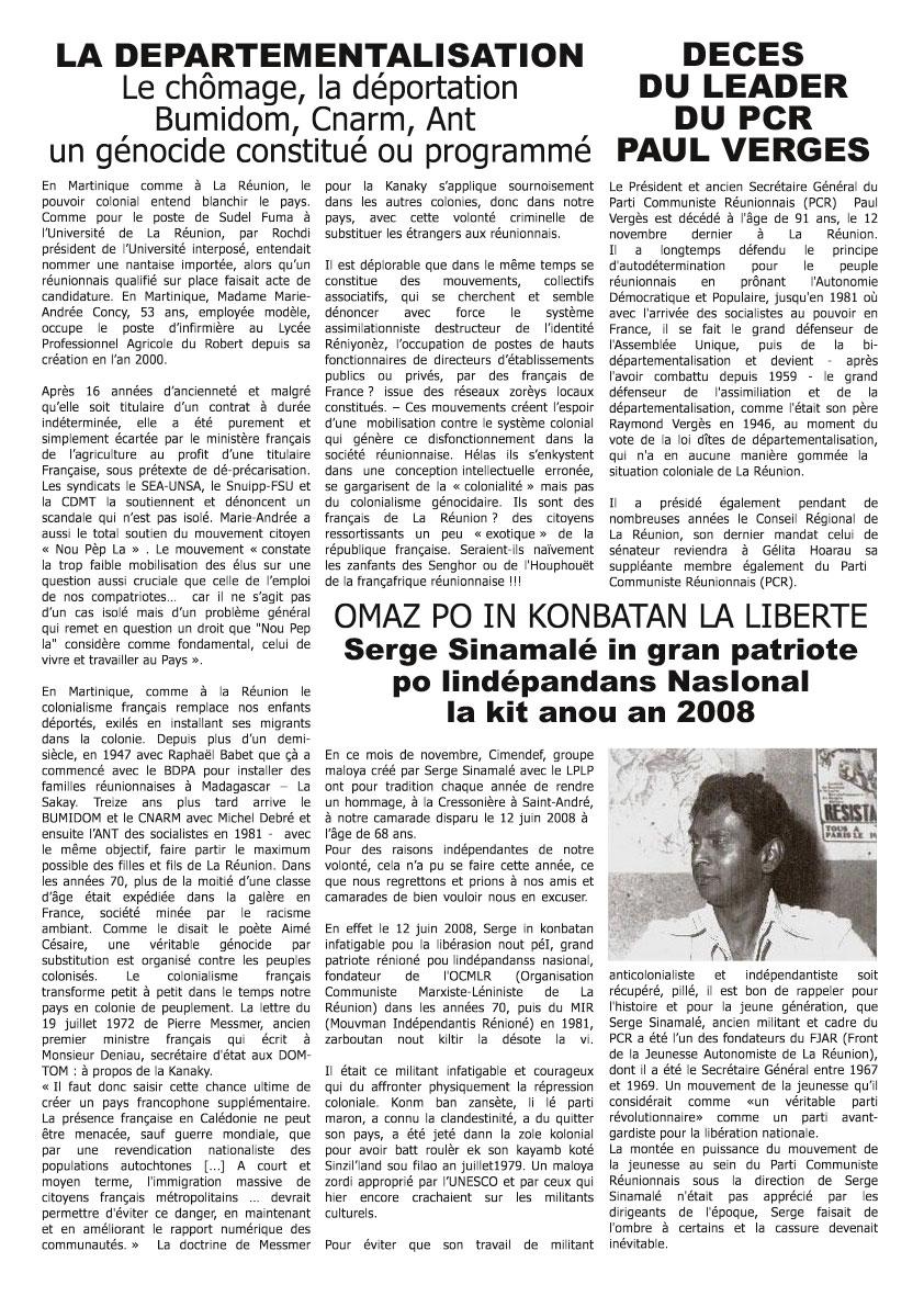 Bernard GRONDIN le Porte-Parole du mouvement LPLP au tribunal