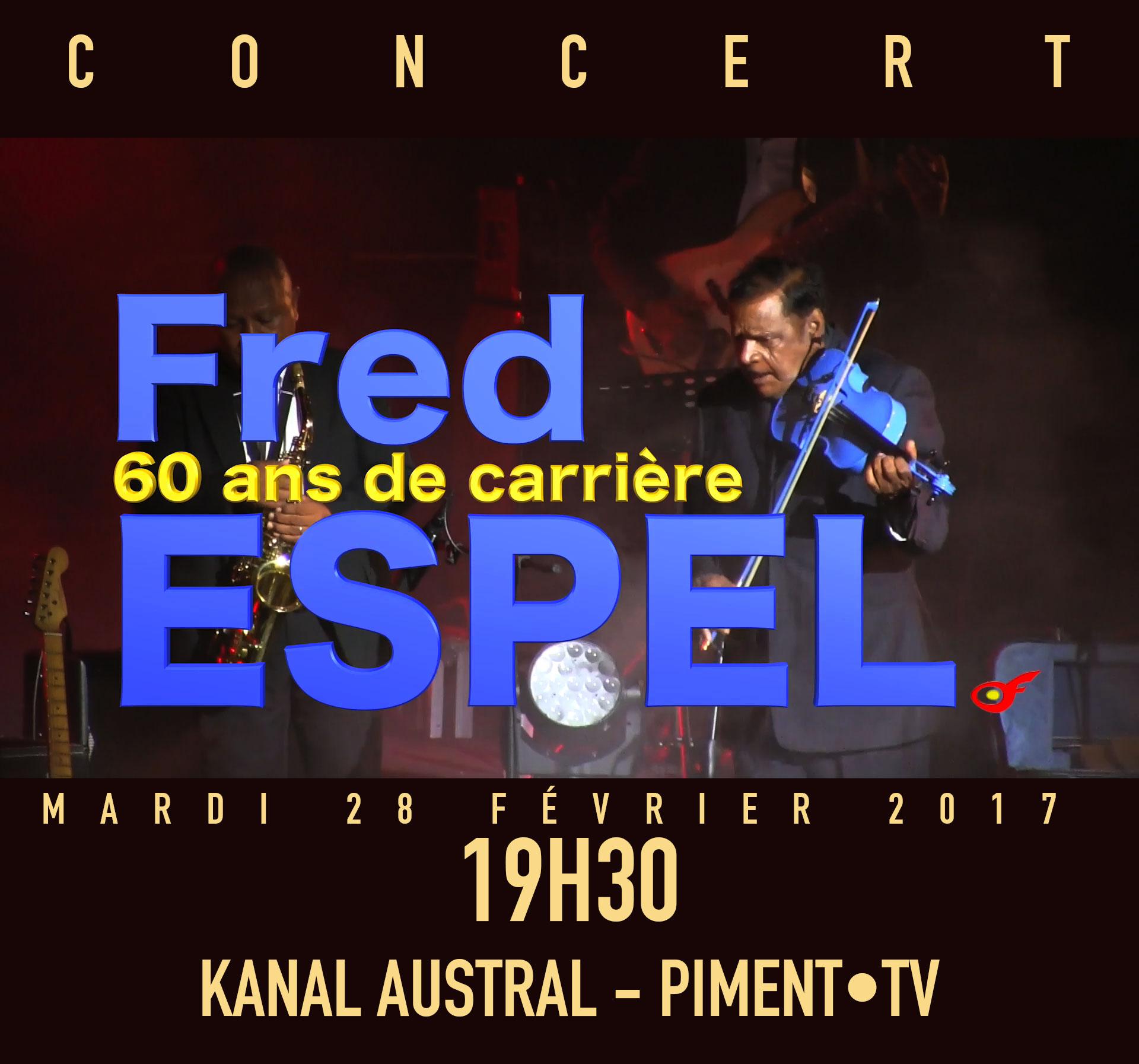 Fred ESPEL : 60 ans de carrière
