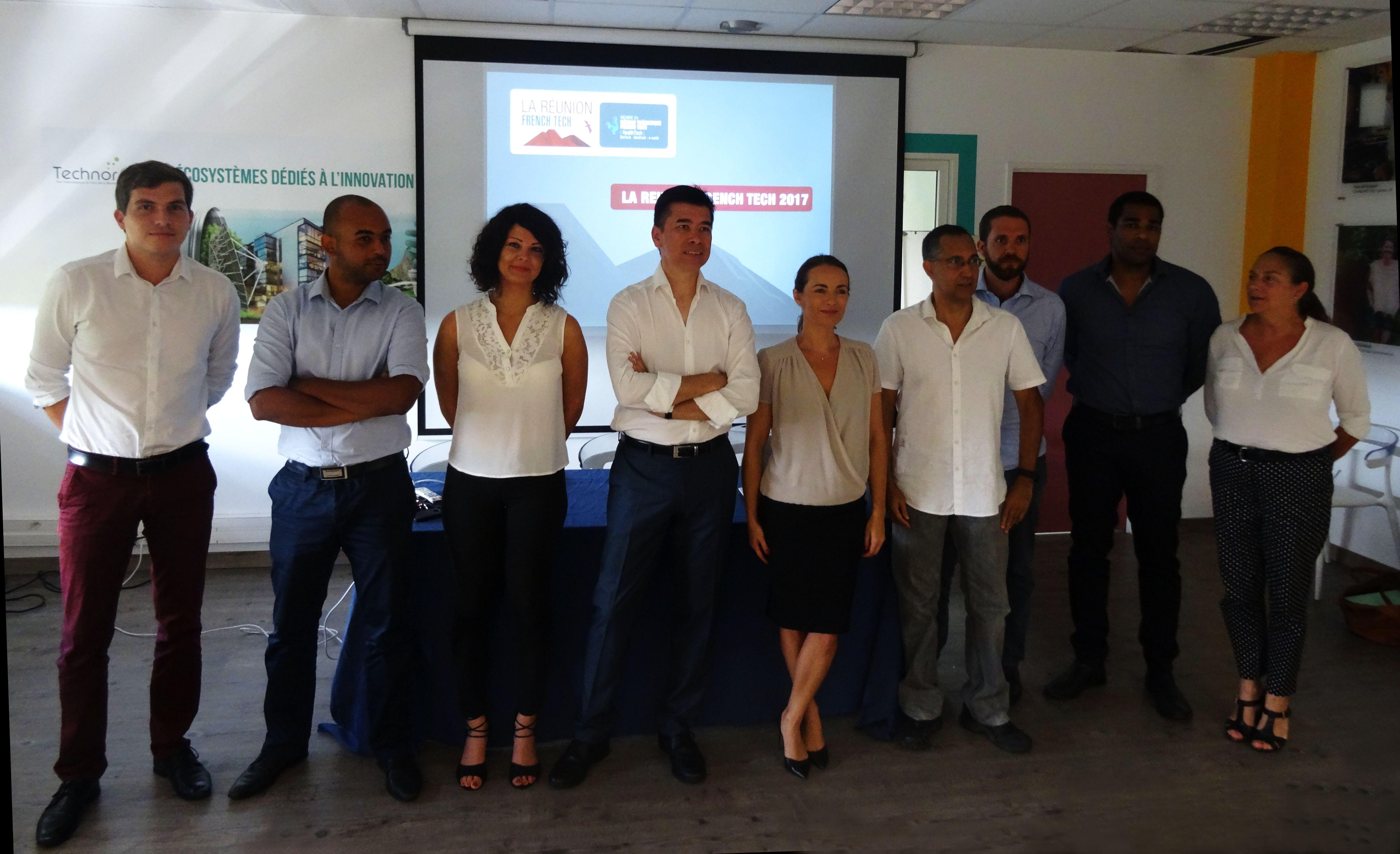 La Réunion FrenchTech 2017 sur les rails