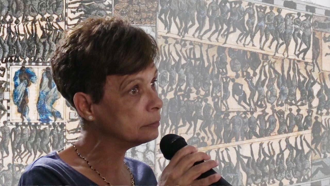 Gilda MARBOIS, militante de La Réunion