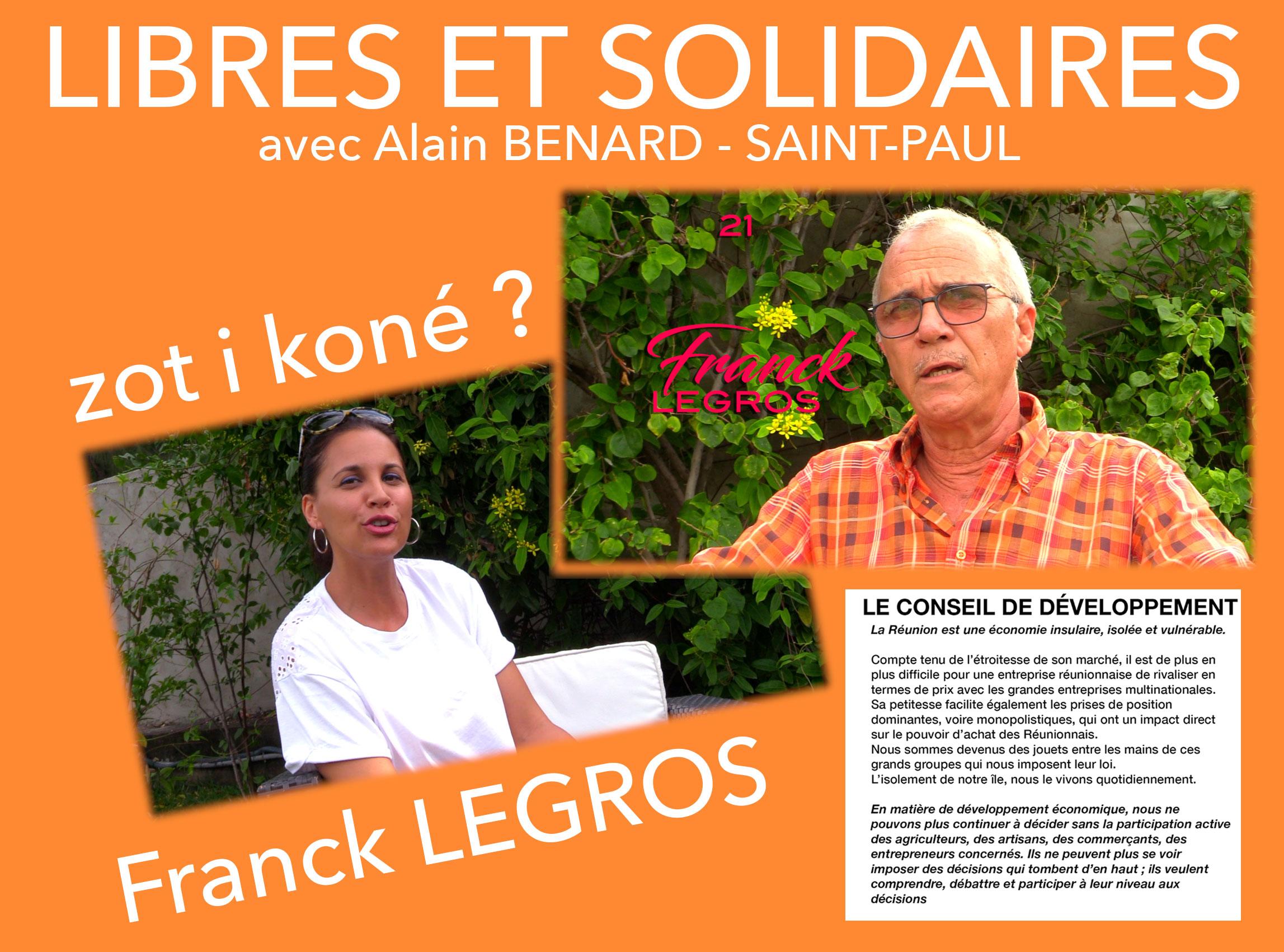 Franck LEGROS : Le pont économique