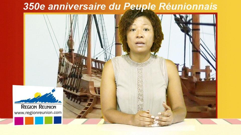 La Région commémore les 350 ans de la naissance du Peuple Réunionnais