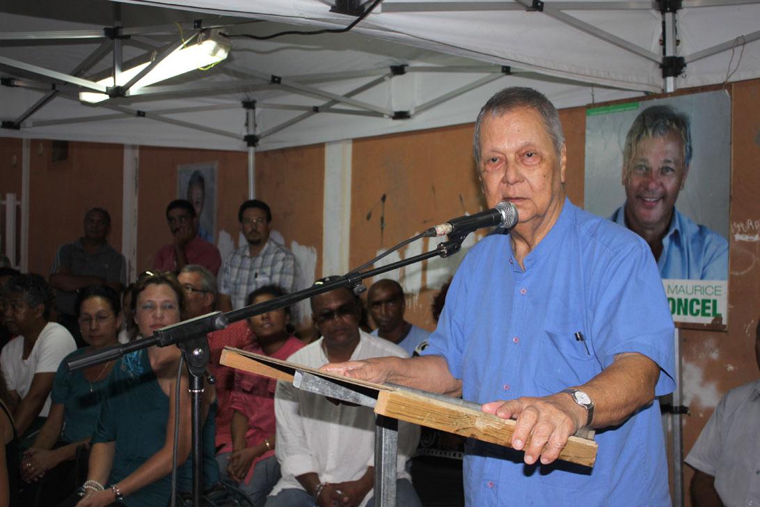 """Paul Vergès : """"Ensemble, élaborer le Pacte pour La Réunion en danger"""""""