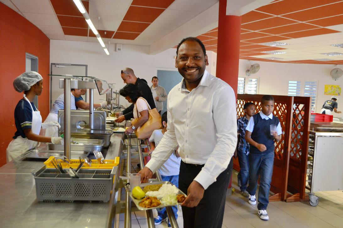 Thierry Robert attire l'attention du préfet sur le gaspillage alimentaire