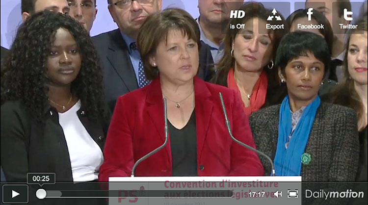 Ericka Bareigts vote le projet de réforme des retraites
