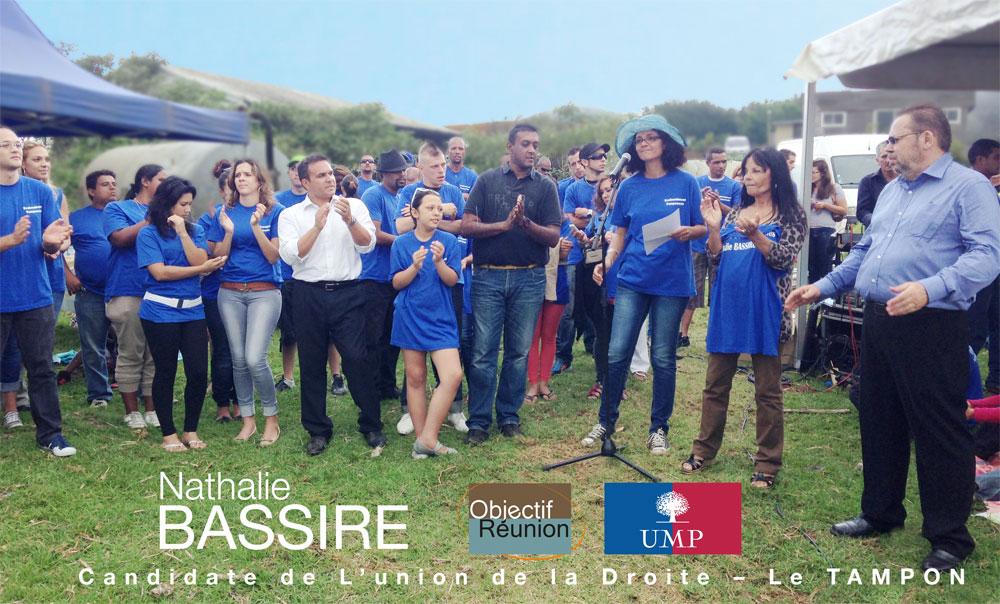L'Union de la droite autour de Nathalie Bassire au Tampon