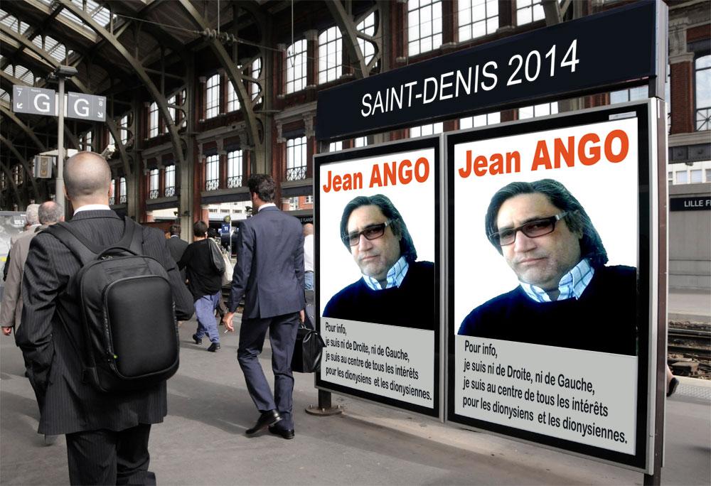 Jean Roland ANGO : Je suis candidat aux Municipales de Saint-Denis