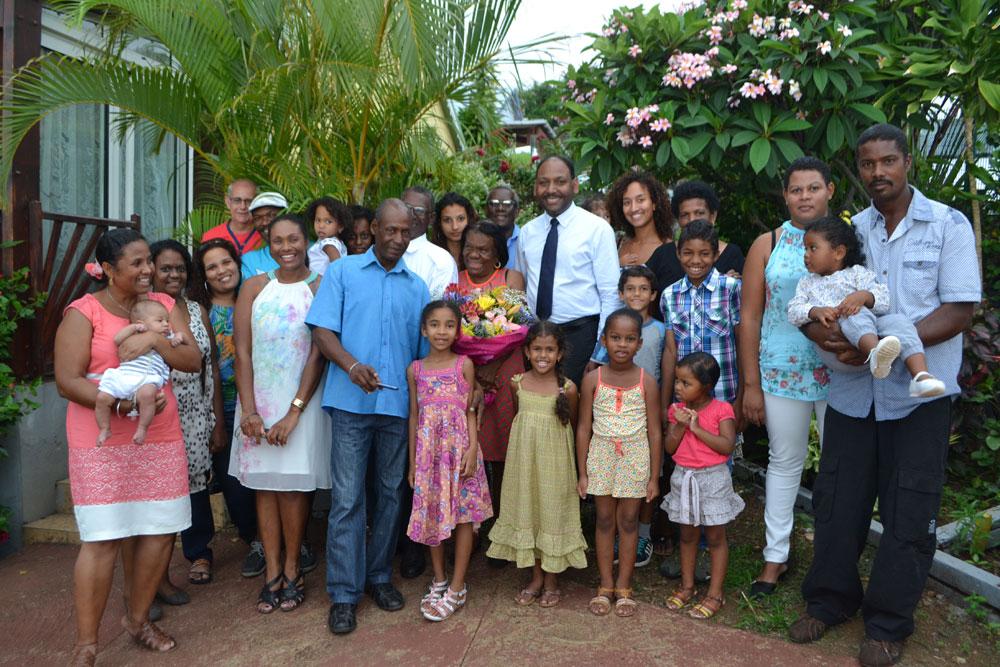 Saint-Leu : Noces d'Or pour les époux BLUKER
