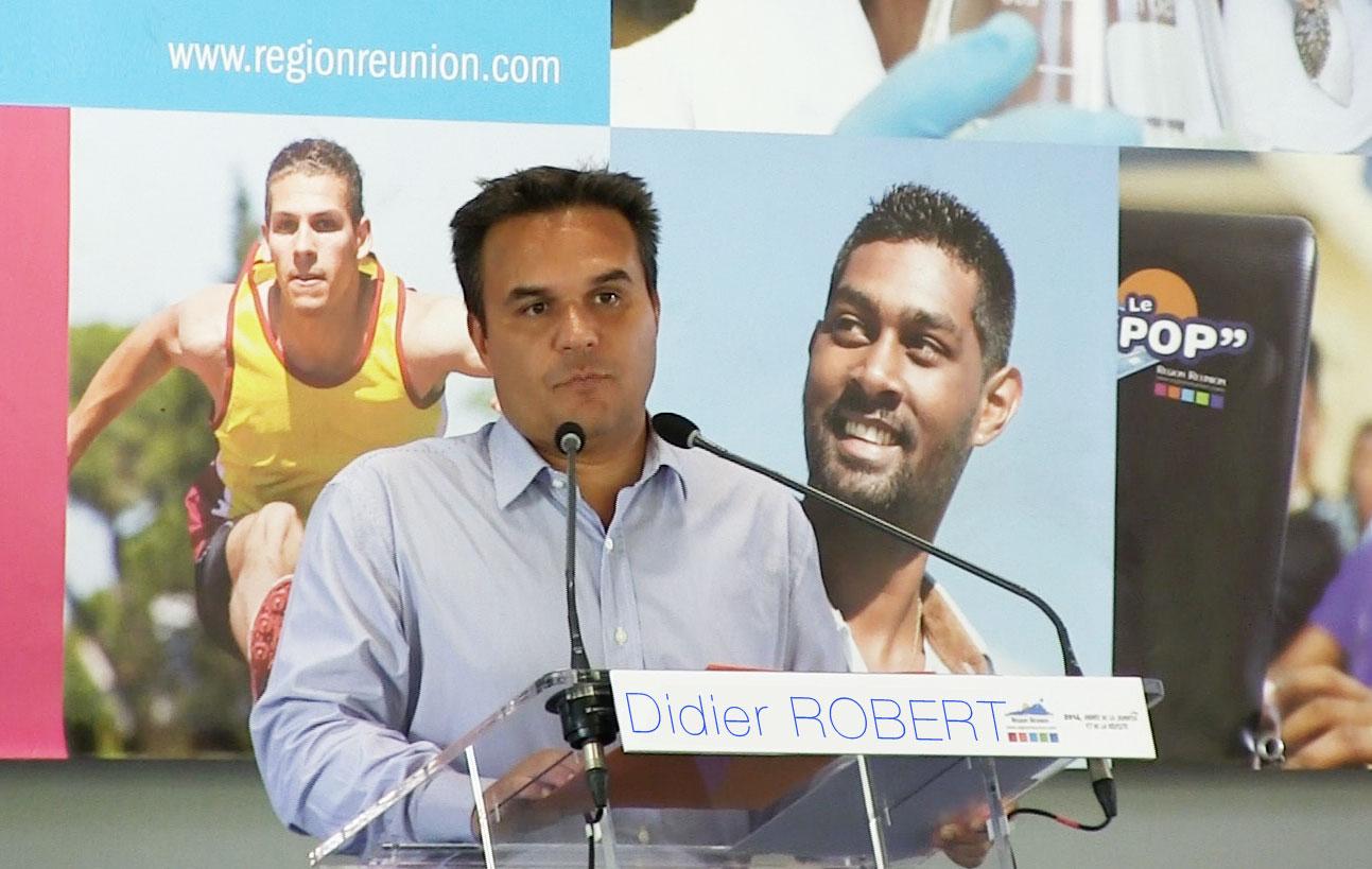 Le Président de la Région Didier ROBERT, contre le monopole des pétroliers