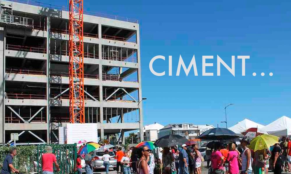 Huguette Bello : Pour faire oublier la grosse masse de béton, elle a choisi Cimendef