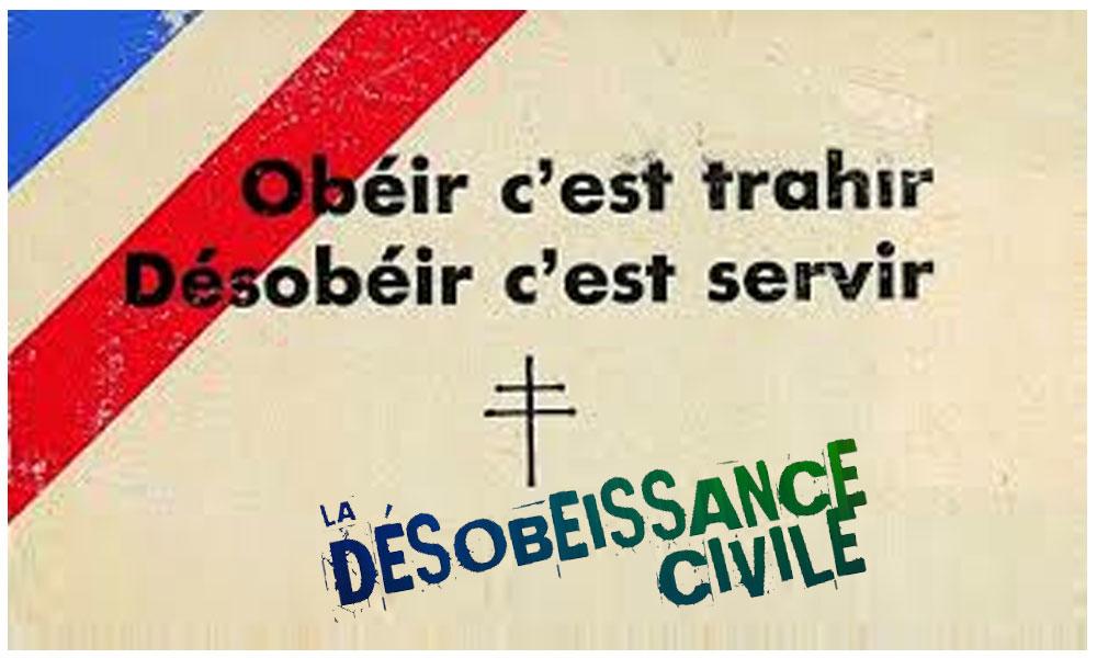 La désobéissance civile est-elle à l'ordre du jour ?