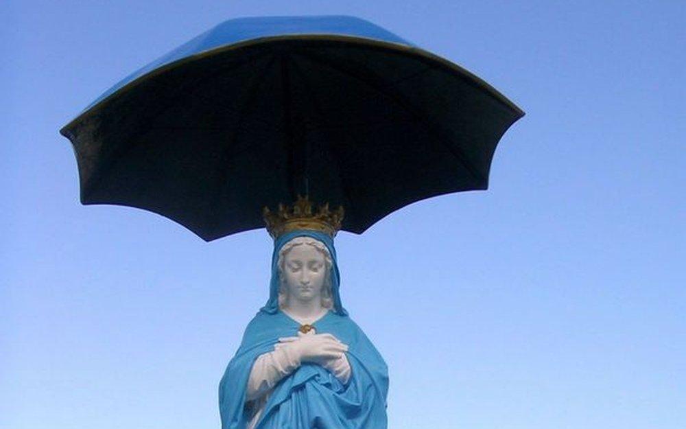La Vierge au Parasol indésirable dans le parc national ?
