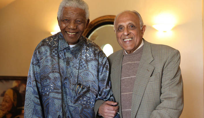 Ahmed KATHRADA, un militant communiste, anti apartheid à La Réunion.