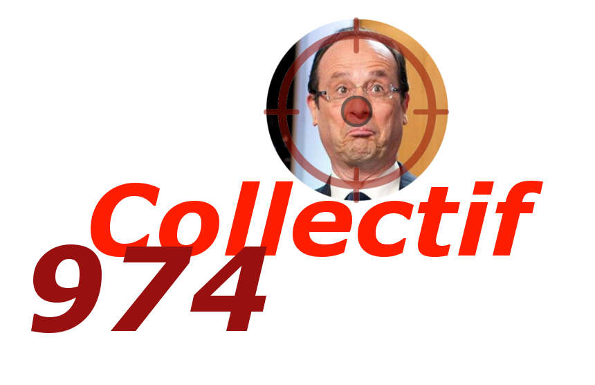 VISITE DE FRANCOIS HOLLANDE :  LE COLLECTIF 974 REPREND LES CHOSES EN MAIN !
