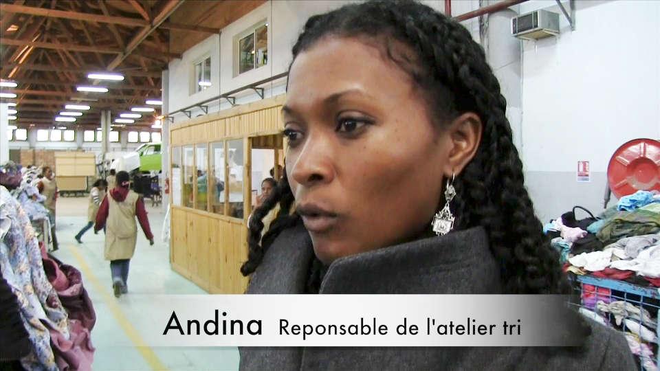 Andina : Responsable de l'atelier de tri