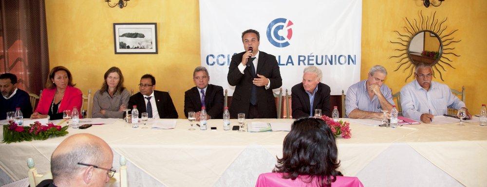 DIDIER ROBERT A LA RENCONTRE DES ENTREPRENEURS DE CILAOS