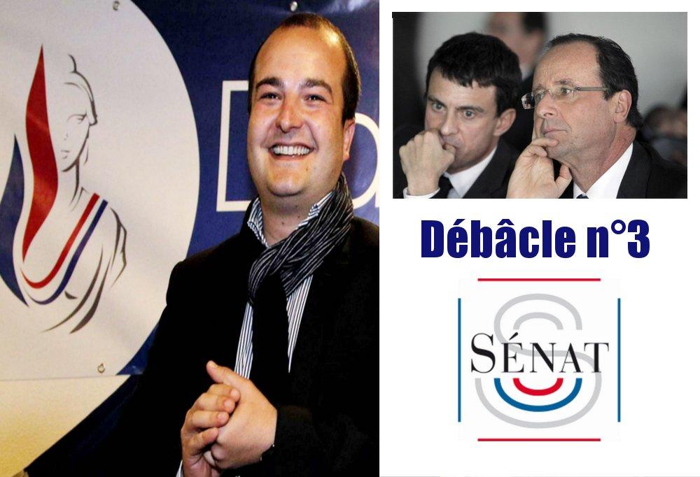 Hollande - Valls : La troisième débâcle