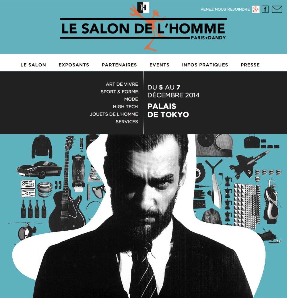 LE SALON DE L'HOMME…