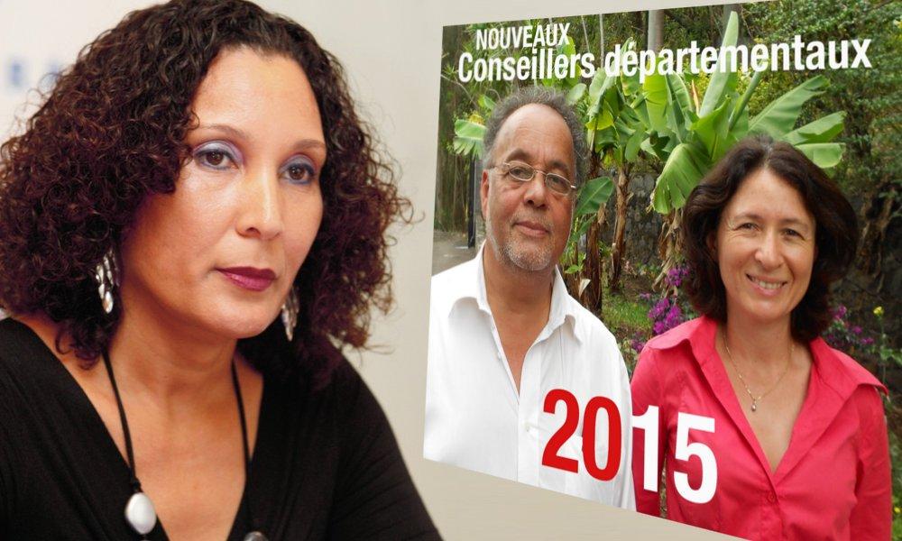 Appel à Pascaline Chéreau-Némazine candidate sur le 2ème canton de Saint-Paul