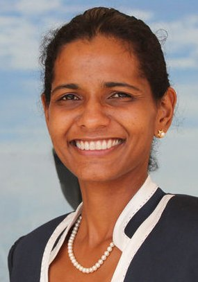 Sandra Présidente du Département