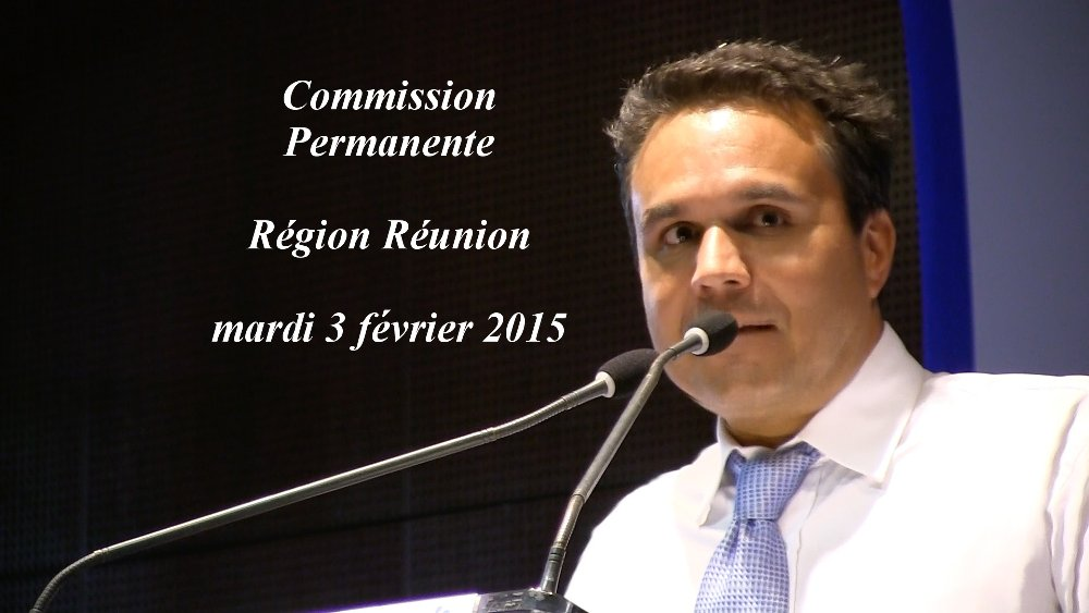 Les premières décisions votées au Conseil régional de La Réunion pour l'année 2015