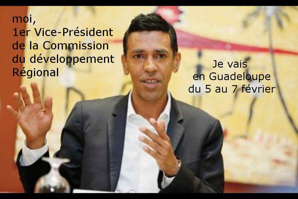 Younous Omarjee en Guadeloupe pour la XXème conférence des Présidents des RUP