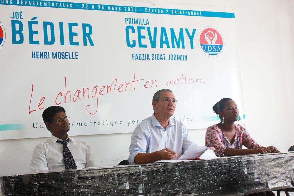 Joe Bédier : Echos du Conseil municipal à Saint-André